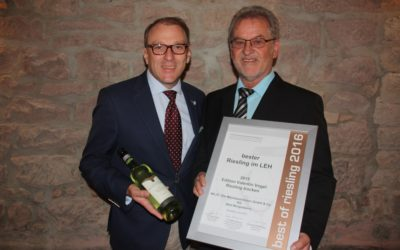 Edition Valentin Vogel – Best Riesling in Food Retailing 2016