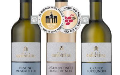 Villa Grünberg räumt ab! 3 x Berliner Gold!