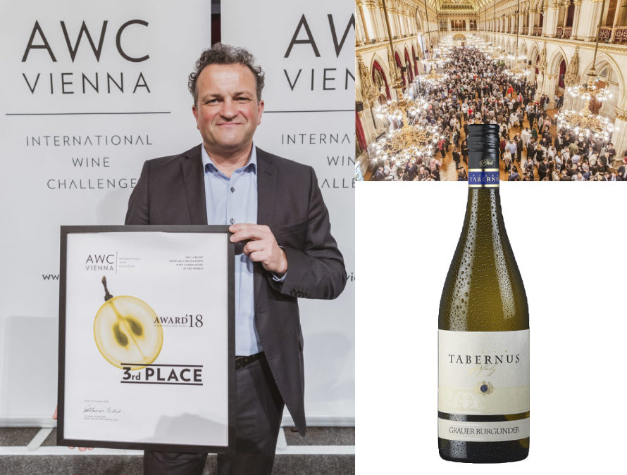 TOP 3 Award – Wine Gala Night – Vienna